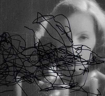 Pierre Bismuth,Following the right hand of Greta Garbo in- Mysterious Lady, 2009